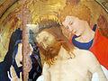 Jean malouel (attr.), cristo in pietà sostenuto da san giovanni, con la vergine e due angeli, 1405-10 ca. 02.JPG