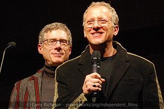 Rob Epstein - Epstein (right) in 2013
