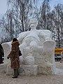 Jelgava, ledus skulptūru festivāls 2007 - panoramio.jpg