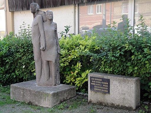 Jena Geschwister-Scholl-Denkmal