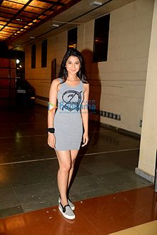 Jennifer Winget at Narayani Shastri's 'Rann' film screening.jpg