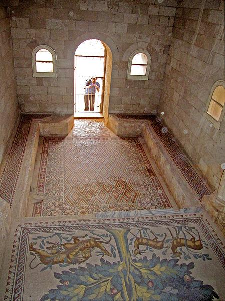 File:Jericho - Hisham's Palace mosaic2.jpg