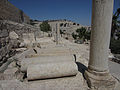 Jerusalem Spare columns - Jerusalem Archaelogical Park (6035918521).jpg