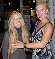 Jessica de Rooij, Julia Sandberg Hansson at Postal screening 1.jpg