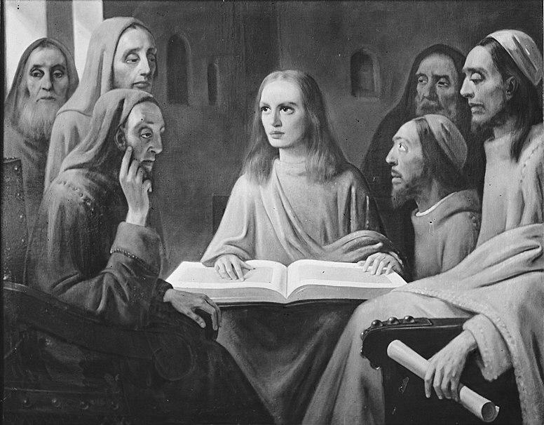 File:Jesus unter den Schriftgelehrten von Han van Meegeren.jpg