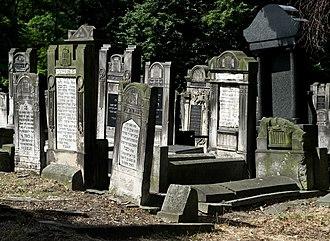 Jewish Cemetery, Łódź - Image: Jewish cemetery Lodz IMGP6736