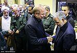Jihad Imad Mughniah in General Qasem Soleimani mother's funeral04.jpg