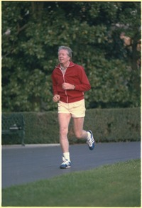 Jimmy Carter jogging - NARA - 182456.tif
