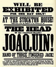 Bandoleros, bandidos, sheriff, indios, etc. - Página 3 240px-Joaquin_Murieta_head_poster