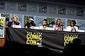 Jodie Whittaker, Regina King, Amandla Stenberg, Chloe Bennet & Camila Mendes (43791526411).jpg