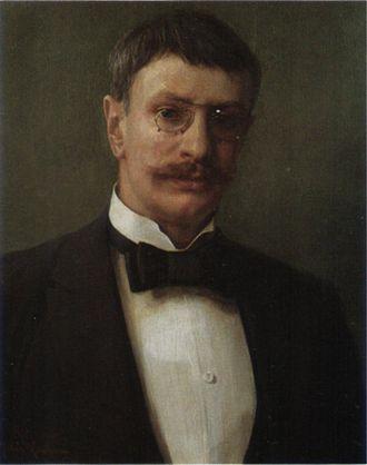 Bow tie - Johan Krouthén wearing a bow tie