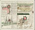 Johann Baptiste Homann - Kreig's-Expedition-Karte in Italien Ao. 1742 un 1743 zwischen der Oesterreichisch-Sardinischen und Spanishchen Armee, die Belagerungen von Mirandola u Modena, Bologna, Panaro (fl 1743).jpg