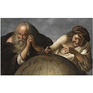 Johannes Moreelse - Johannes Moreelse, Democritus and Heraclitus