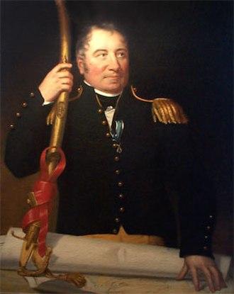 John Stricker - 1816 portrait by Rembrandt Peale