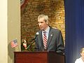 John Dunne delivers remarks at the 235th anniversary celebrations..jpg