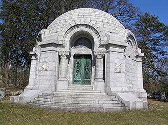 John Dustin Archbold - The Archbold Mausoleum, Sleepy Hollow Cemetery, New York
