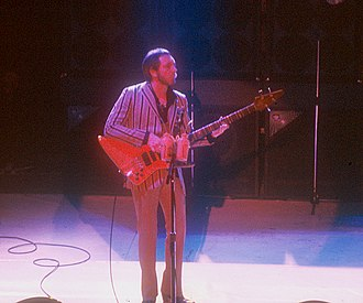 John Entwistle - Entwistle at the Manchester Apollo with the Who in a 1981 performance