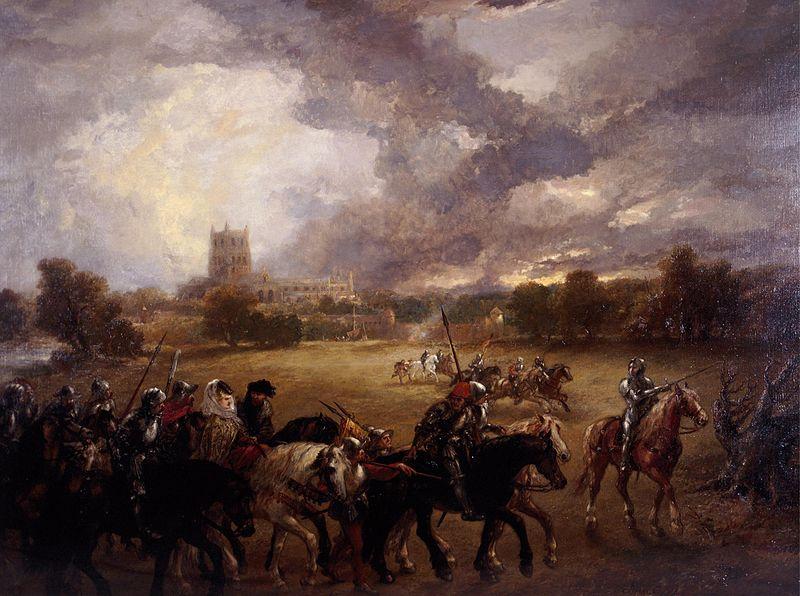 File:John Gilbert - Margaret of Anjou Taken Prisoner After the Battle of Tewkesbury (1875).jpg