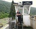 John Gordon, Bridge keeper at Laggan swing bridge - geograph.org.uk - 1454300.jpg