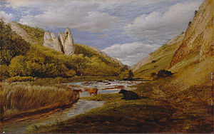 John Linnell (painter) - Image: John Linnell In Dovedale Google Art Project (2467112)