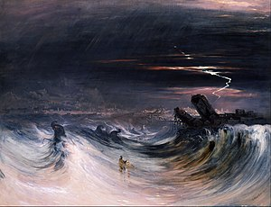 John Martin (painter) -  John Martin - Destruction of Tyre