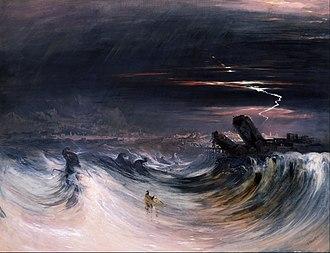 John Martin (painter) -  John Martin - Destruction of Tyre