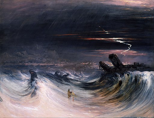 John Martin - Destruction of Tyre - Google Art Project