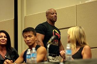 Mortal Kombat 3 - John Parrish (Jax) with Lia Montelongo (Sindel), Kerri Hoskins (Sonya Blade) and Phillip Ahn (Shang Tsung in MKII), reuniting in 2017