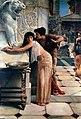 John Reinhard Weguelin–Herodias and her Daughter (1884).jpg