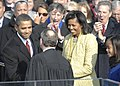 John Roberts congratulates Barack Obama after swearing in 1-20-09 090120-F-3961R-929.jpg