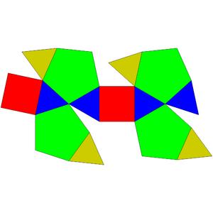 Bilunabirotunda - Image: Johnson solid 91 net