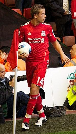 Jordan Henderson - Henderson playing for Liverpool in 2011