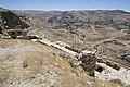 Jordan Kerak Castle southwest corner from high 2492.jpg
