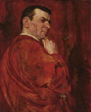 Josef Kainz - Portrait (1895) by Ludwig Keller (1865-1925)