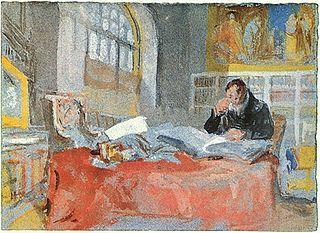 Turner in his studio