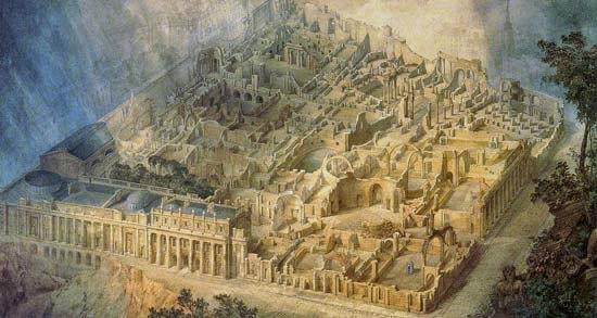 Joseph gandy bank ruins