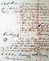 Judgment of Debt, Greene County, Pennsylvania, 1815.jpg