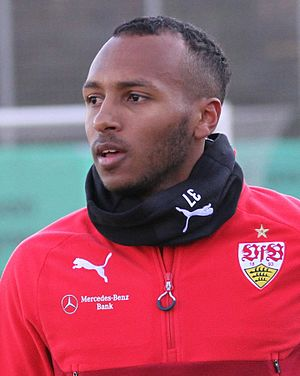 Julian Green - Green training with VfB Stuttgart in 2017
