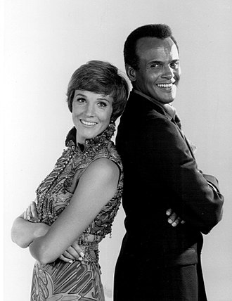 Harry Belafonte - With Julie Andrews on the NBC special An Evening with Julie Andrews and Harry Belafonte (1969)