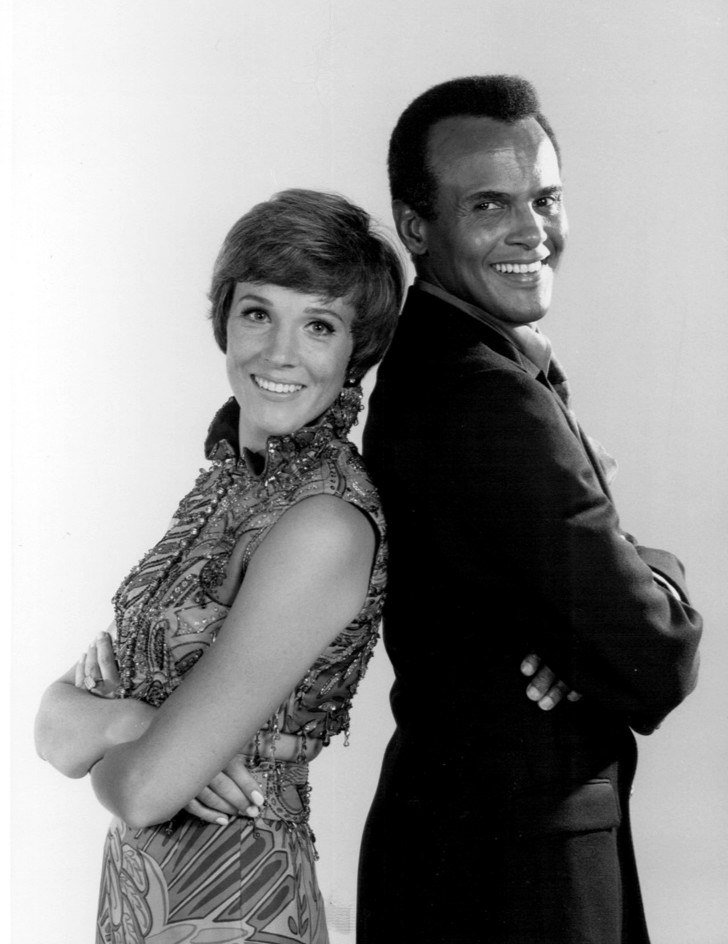 Julie Andrews Harry Belafonte 1969