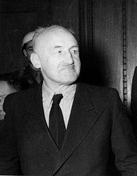 Julius Streicher, fotografato durante il processo di Norimberga