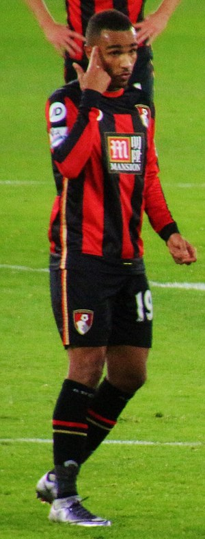 Junior Stanislas - Stanislas playing for Bournemouth in 2015