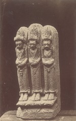 KITLV 87684 - Isidore van Kinsbergen - Hindu-Javanese sculpture coming from the Dijeng plateau - Before 1900.tif