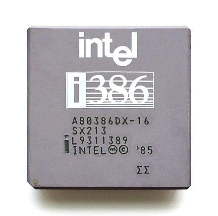 Intel 80386 Wikiwand
