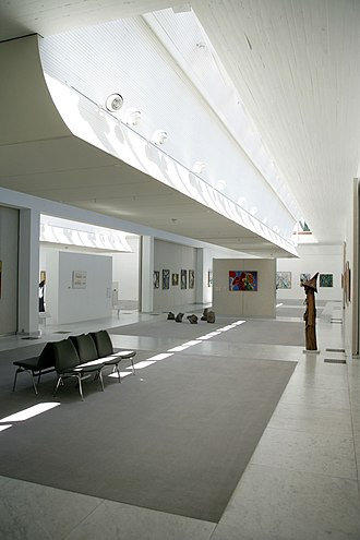 KUNSTEN Museum of Modern Art Aalborg - Interior view