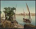 Kairo, Bords du Nil et Dahabieh LCCN2017657711.jpg