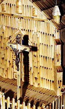 Kapliczka w Zabrza Zaborza krzyz.jpg