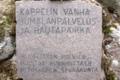 Kappelinluoto muistomerkki laatta.png