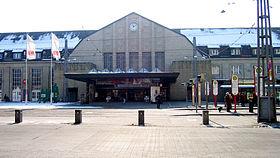 Gare Centrale De Karlsruhe Wikip Dia
