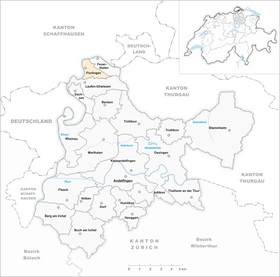 Map of Flurlingen